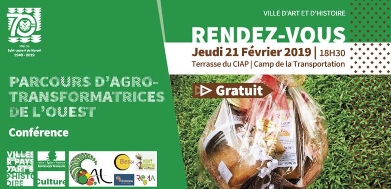 [Conférence] : Parcours d'agro-transformatrices de l'Ouest