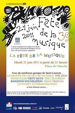 La musique en fête à la place Flore Lithaw (place du Marché)