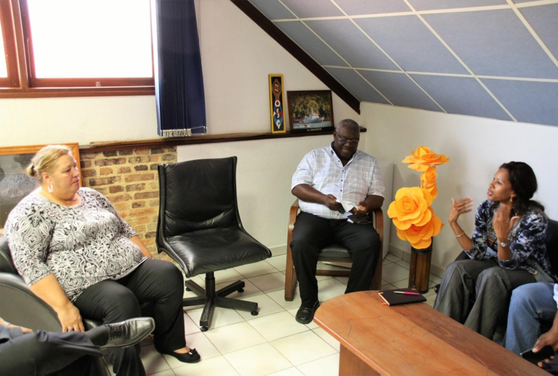 [Numérique] : Madame le maire rencontre Orange autour des besoins actuels et futurs de la commune