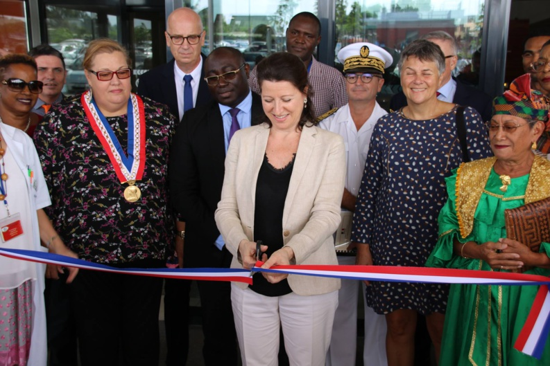 Sante Inauguration Officielle Du Nouveau Chog Par Agnes Buzyn