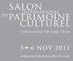 Le Salon International du Patrimoine Culturel se tiendra du 3 au 6 novembre 2011 à Paris, au Carrousel du Louvre.