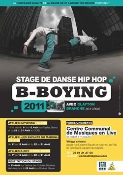 Stage de danse Hip-Hop avec la Cie Rualité