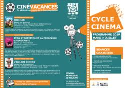 [Cinéma] : programme des projections