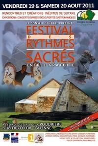 Festival des Rythmes Sacrés 2011.