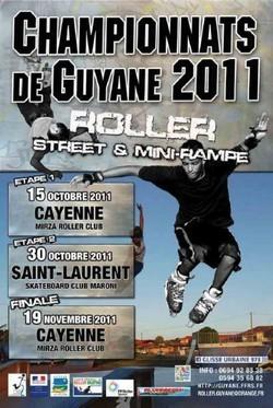 Championnat de Guyane 2011 de roller
