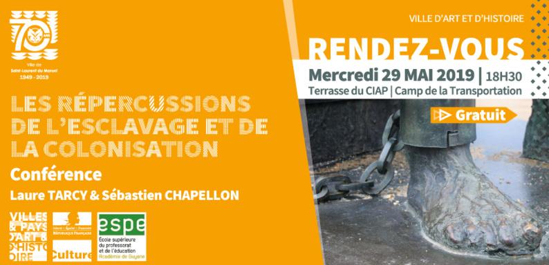 [Conférence] : Les répercussions de l'esclavage et de la colonisation