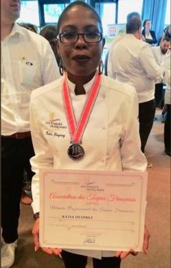 [TALENTS] : la Ville de Saint-Laurent du Maroni soutient et félicite la talentueuse cheffe cuisinière saint-laurentaise Katia DESPREZ, membre des Toques françaises