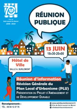 [Plan local d'urbanisme] : réunion publique