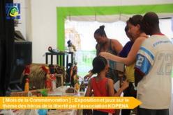 [Mois de la commémoration] : retour en images sur l'exposition et les jeux organisés par l'association KOPENA autour des Héros de la Liberté