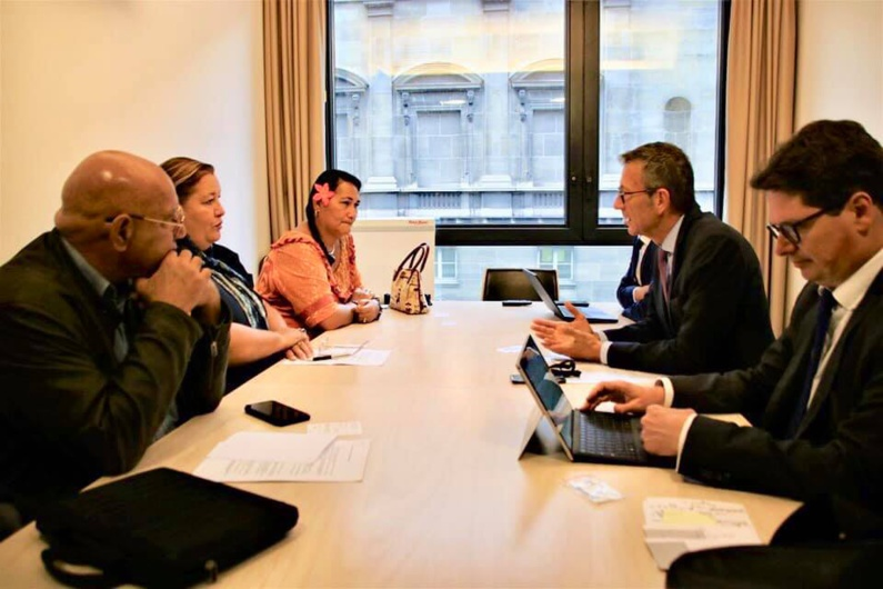 [Logement] : la commune de Saint-laurent invitée à venir sensibiliser les parlementaires à l'Assemblée Nationale sur les réalités et les besoins de la commune en matière de foncier et de logement.