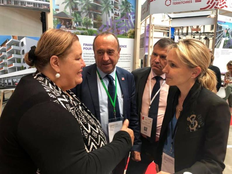 [Aménagement urbain] : Madame le maire rencontre la Direction de la Banque des Territoires à Paris pour échanger sur les actions en cours et à venir pour construire dès aujourd'hui le Saint-Laurent de demain