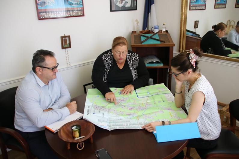 [Développement du territoire] : Madame le maire aborde les questions de logement et de scolarisation au Ministère des Outre-mer