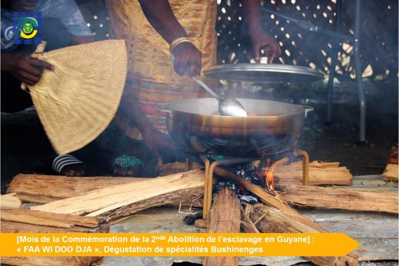 [Mois de la Commémoration] : découverte de la cuisine bushinengé