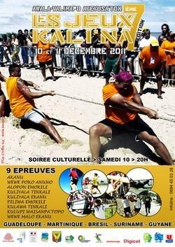 7ème édition des jeux KALI'NA 2011 d'Awala-Yalimapo.