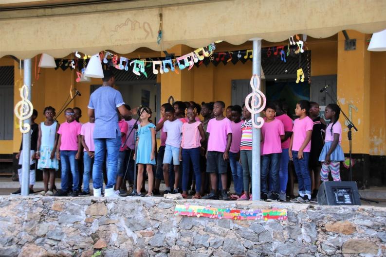 Fête de la musique... aux choeurs de l'école