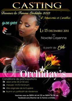 Casting Miss Orchiday 2012.