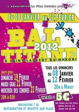 """L'association La fine bouche organise les soirées """"Bal titane"""" à St-Laurent"""