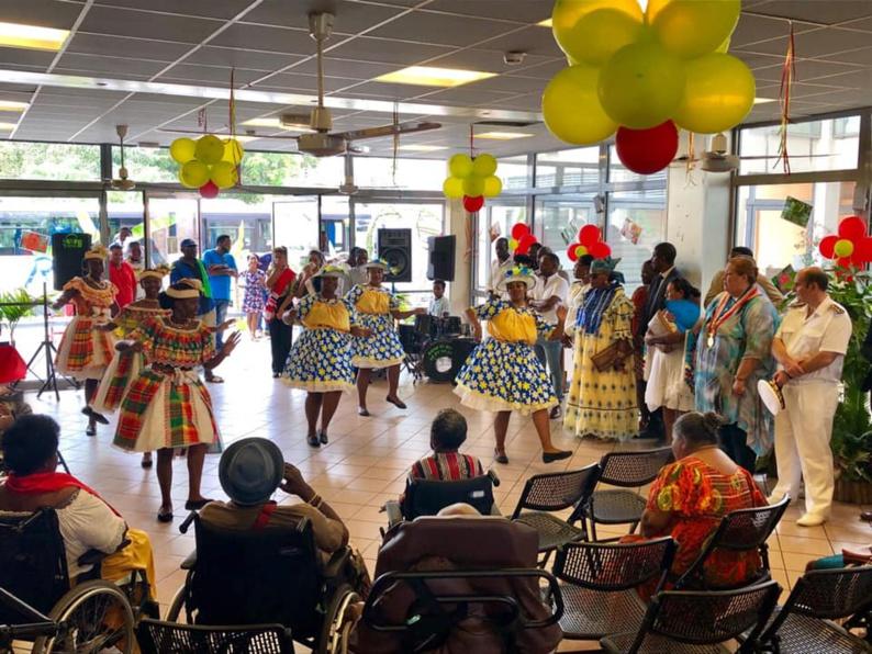 [Saint-Laurent du Maroni - Fête patronale spécial 70 ans ] : la fête patronale est la fête de tous, y compris de nos aînés