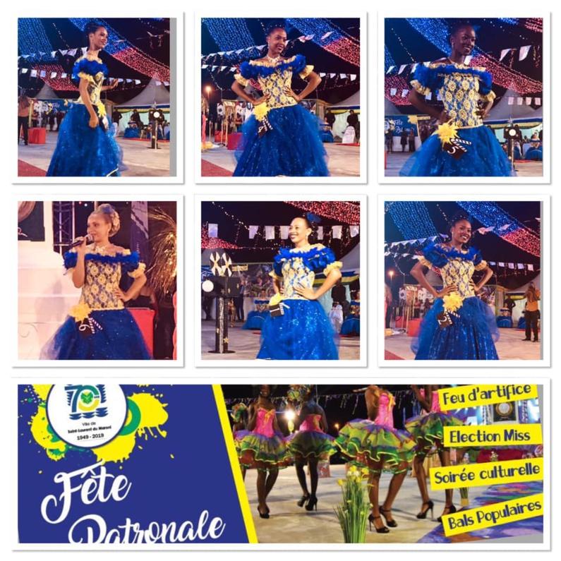 [Saint-Laurent du Maroni - Fête patronale spécial 70 ans] : Election de Miss Saint-Laurent 2019, tableau N4 : « Gala princier de Grâce Kelly»