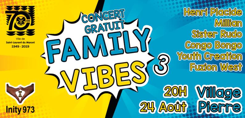 Concert gratuit : Family Vibes 3