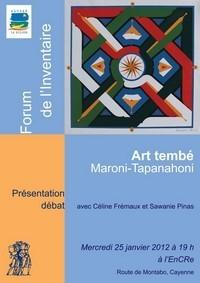 Forum de l'inventaire du patrimoine culturel des villages du Maroni et de la Tapanahoni.