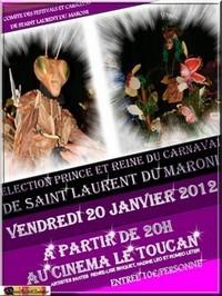 Election du Roi et de la Reine du Carnaval 2012 à Saint-Laurent du Maroni.