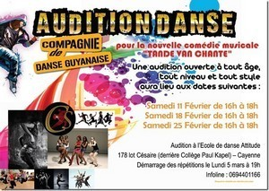 Audition de Danse