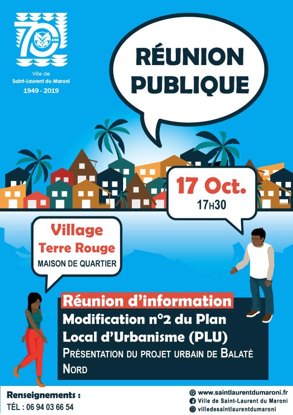 [ Plan local d'urbanisme ] : réunion publique projet Balaté Nord