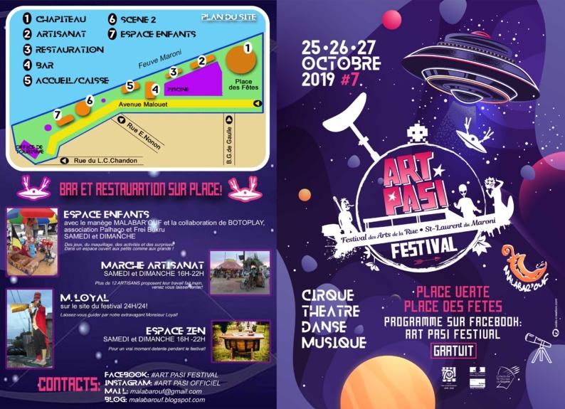 ARTS De RUE : 7ème édition de l'ART PASI Festival
