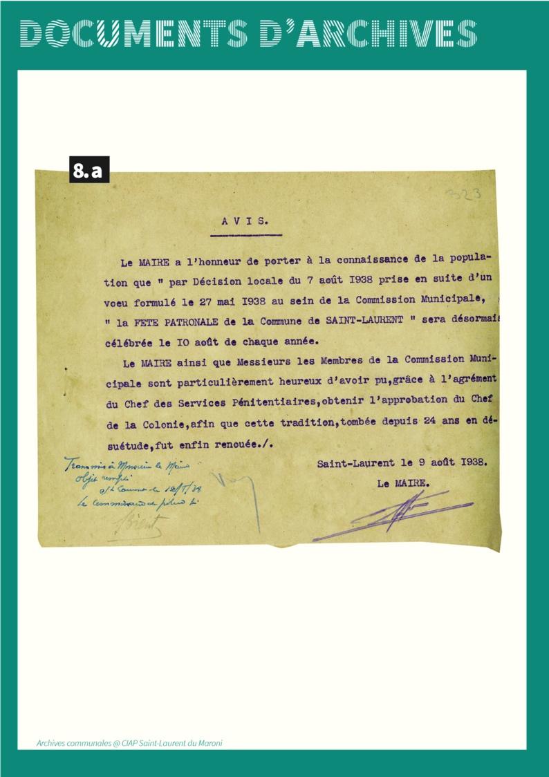 """[Patrimoine] : série """"Au cœur des archives"""" - Volet 8 : Focus sur les fêtes saint-laurentaises des années 1930-1950"""