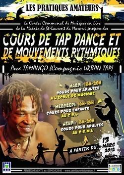 Le CCML organise des cours de Tap dance et de mouvements rythmiques à partir du 13 mars et jusqu'en juin 2012