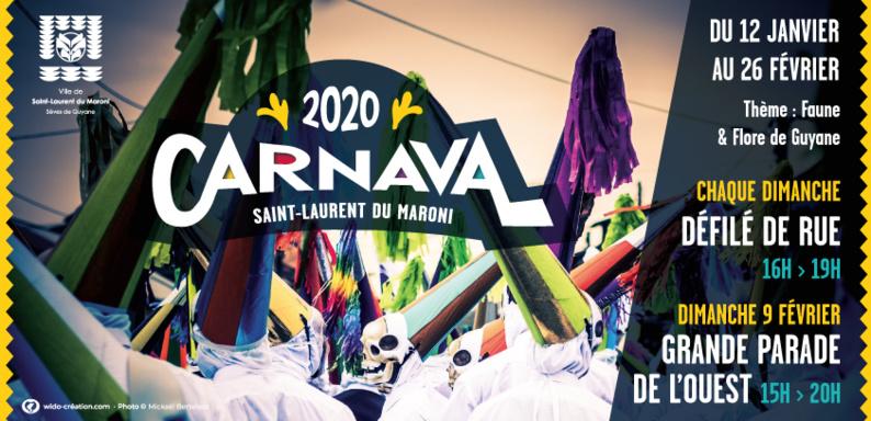 [Carnaval] : Retrouvez le programme du Carnaval 2020 !