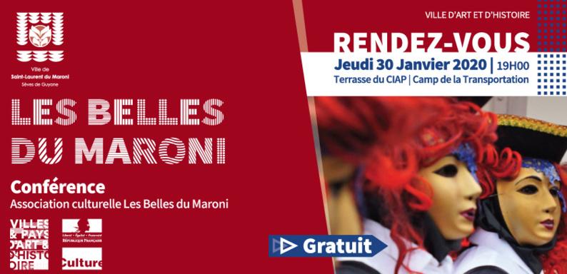 [Jeudis du patrimoine] : Conférence « Les Belles du Maroni »
