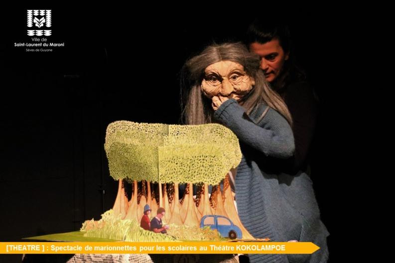 [Théâtre] : Spectacle de marionnettes « OPERETTALZEIMER »  pour les scolaires