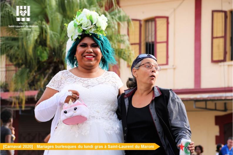 [Carnaval 2020] : Retour en images sur les mariages burlesques du lundi gras
