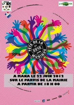 31ème édition de la fête de la musique à Mana.
