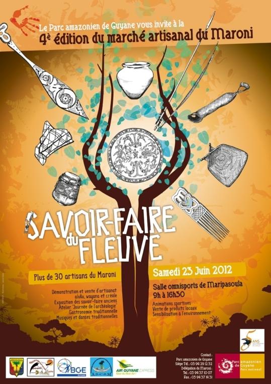 4ème édition du marché artisanal du Maroni à Maripassoula
