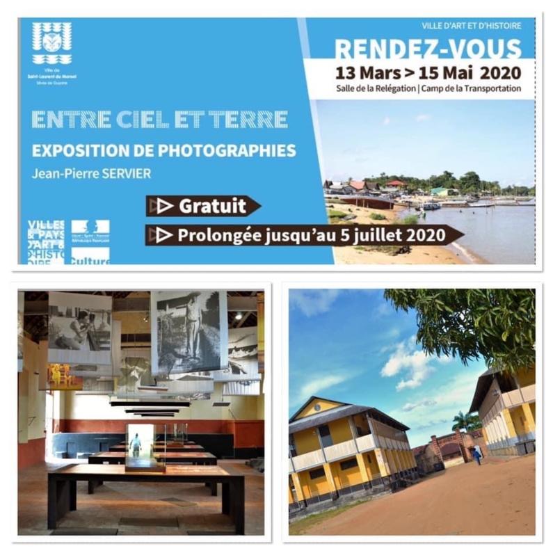 [#patrimoine] : envie de voir une expo ? Le CIAP de #saintlaurentdumaroni vous accueille sur de nouveaux horaires