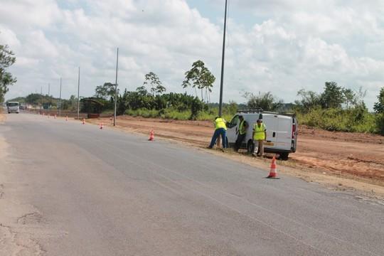 L'éclairage public de la RD11 sera interompu durant les travaux.