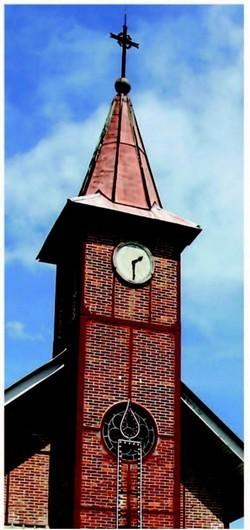 Laissez-vous conter l'église de Saint-Laurent du Maroni.