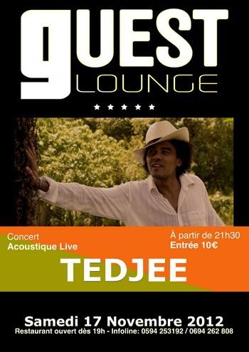 TEDJEE en concert acoustique Live