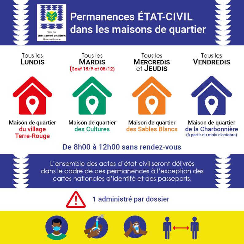 [#Etat-Civil] : la commune innove en mettant en place des permanences au plus proche des habitants dans les quartiers