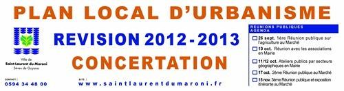 3ème réunion publique d'information sur le PLU
