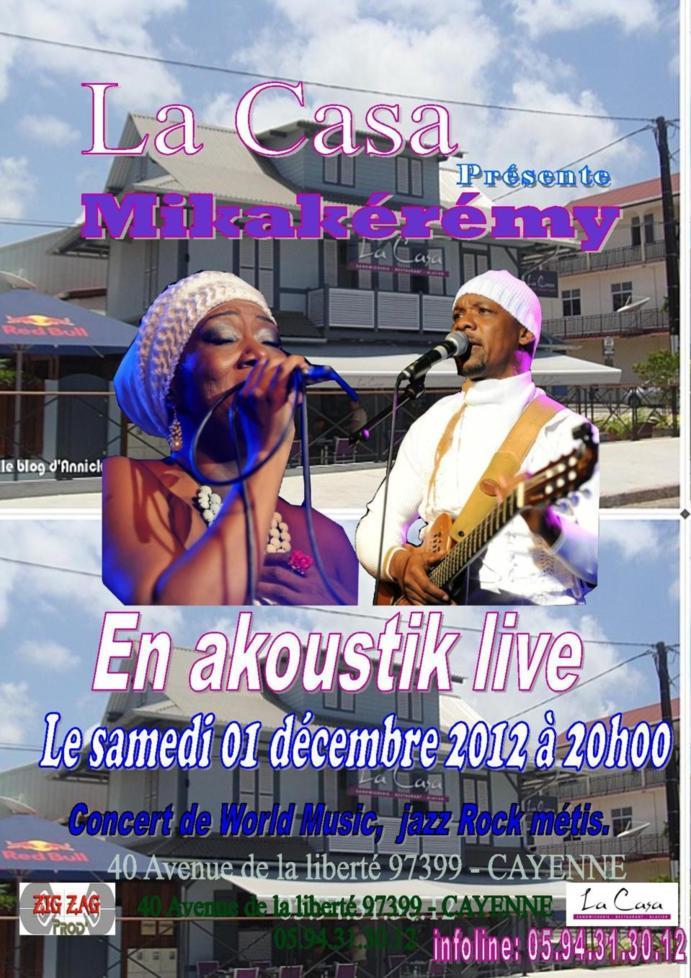 Concert à Cayenne