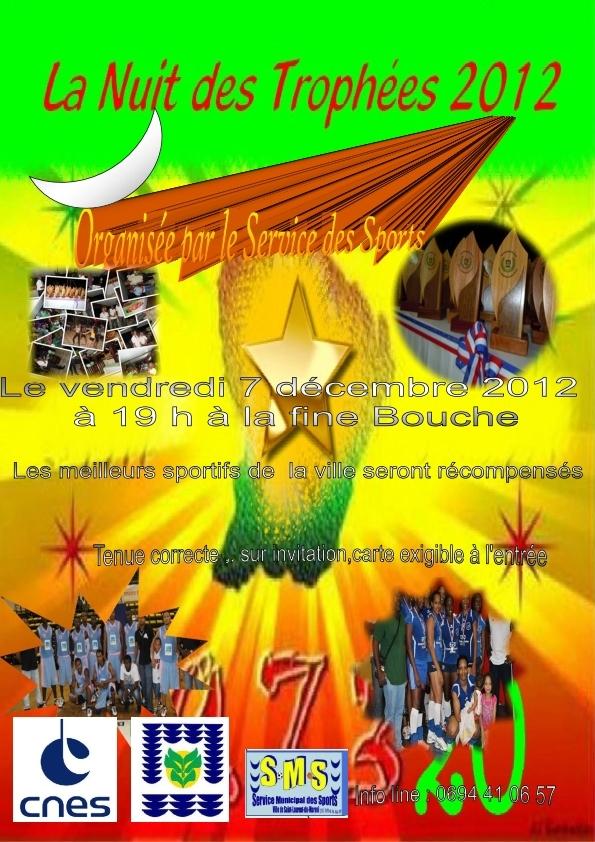 La nuit des trophées à Saint-Laurent du Maroni.