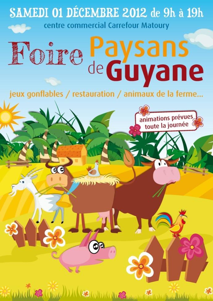 Bio Savane sera à la foire agricole des Paysans de Guyane samedi 1er Décembre
