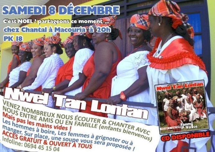 """Chanté de Noël à Macouria avec L'association """"Fanmi Voice"""""""