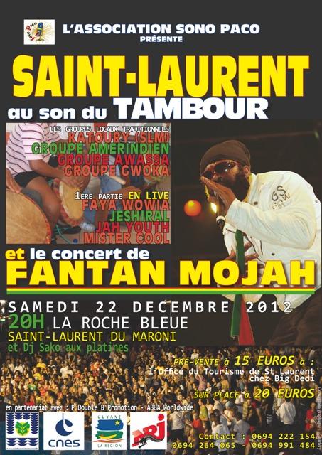 Saint Laurent au son du Tambour : une soirée musicale pleine de promesses.
