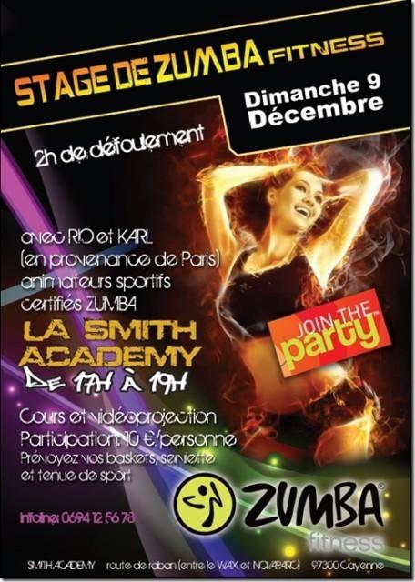 Stage de Zumba Fitness