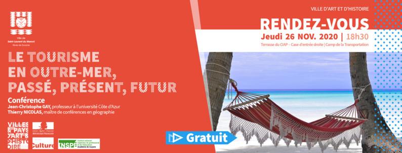Jeudis du patrimoine : conférence : Le tourisme en outre-mer, passé, présent, futur